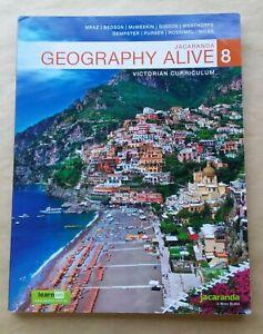 Jacaranda Geography Alive 8 Victorian Curriculum student textbook