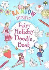 NEW   RAINBOW MAGIC Fairy Holiday Doodle Book by Daisy Meadows FAIRIES