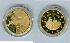 manueduc   50  Céntimos  De ESTUCHE  SAN MARINO 2008  PROOF   NUEVO