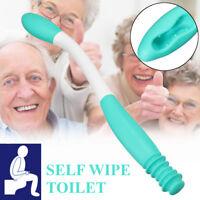 Long Reach Comfort Wipe Holder Toilet Paper Self Wipe Aid Helper Paper Holder