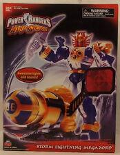 Power Rangers Ninja Storm -Storm Lightning Megazord Lights & Sound Bandai SEALED
