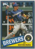 2020 TOPPS SERIES ONE BLUE 35TH ANNIVERSARY Keston Hiura Milwaukee Brewers