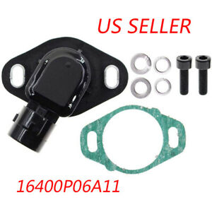 Throttle Position Sensor TPS Kit For 1990-2002 Honda Accord 2.2L 2.3L 2.7L 3.0L