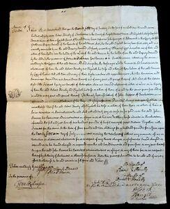 1757 ANTIQUE ENGLISH MANUSCRIPT