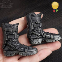 1:6 Soldier Shoes Army Combat Falcon Boots Shoes w/feet F 12'' Body ActionFigure