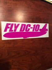 DC-10 AIRLINES LARGE STICKER MCDONNELL DOUGLAS
