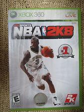 NBA 2K8 (Microsoft Xbox 360, 2007)