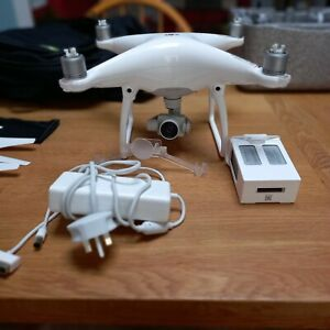 DJI Phantom 4 - White - Hardly Used - Excellent condition