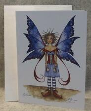 Amy Brown Fairy Caffeine Overload Note Greeting Card Faery Fantasy Mythical