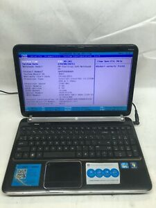 """HP Pavilion dv6 6118nr 15.6"""" Laptop Boots to BIOS NO HDD/Battery/Charger JR"""