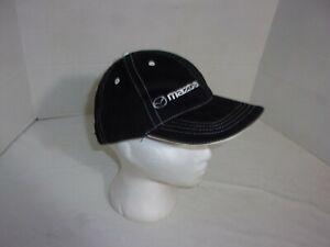 Mazda Unisex MX-5 Miata RX-7 Baseball Hat Cap Black Adjustable Strapback