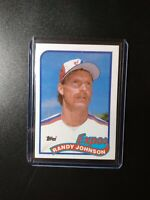 1989 Topps Randy Johnson Montreal Expos #647 Baseball Card