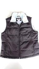 Ladies Athletic Works Quilted Puffer Down Vest, Medium (8/10), Black - NICE 2110