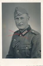 Nr. 25684 Porträt Foto PK  2,WK Deutscher  Soldat Orden  Enns O.Ö.