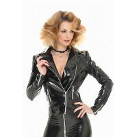 Patrice Catanzaro, S.Perfecto, Perfecto sexy court zippé vinyle noir brillant