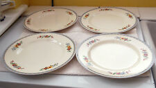Earthenware British J&G Meakin Pottery Dinner Plates