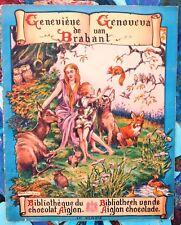 Geneviève de Brabant. Album d'images chocolat AIGLON . TBE