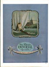 Publicité ancienne montre Diane Universal 1950 issue de magazine J. Brochard