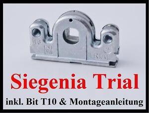 SI Siegenia Trial Getriebe 3 & 23 Getriebeschloß Schneckengehäuse schraubbar  11