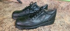 New Red Wing Made In Usa No. 6654 Safety Steel Toe Shoes Black Leather Size 9 D