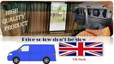 VW T6 T5 T4 Curtain Kit - BLACK 2 SIDE WINDOWS   Campervan Curtains