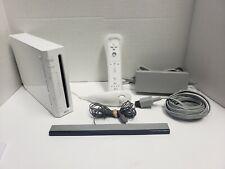 Nintendo Wii White Console RVL-001 Game Cube Compatible Bundle complete!