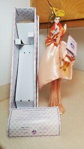 "J. Misa Collection 16"" Porcelain Tassel Doll Cert of Authenticity Original Pkg"