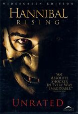 NEW DVD //  HANNIBAL RISING:UNRATED // DOMINIC WEST ,