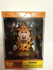 "Disney Vinylmation 3"" Halloween 2012 Witch Minnie Mouse Mickey *NEW SEALED BOX*"