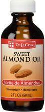 De La Cruz Sweet Almond Oil 2 oz (Pack of 9)