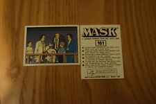 Mask Panini sticker 1986 ( M.A.S.K.  Kenner parker toys ) number 161