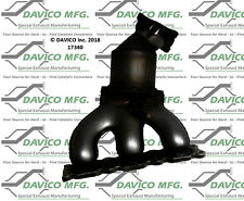 Catalytic Converter-Exact-Fit Left Davico Exc CA 17340