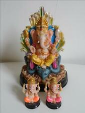 3 ELEPHANTS / ethnique hindou bouddhisme ganesh inde  collection n°17