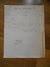 Antique 1903 Lefebvre Furniture Dealers Funeral Directors Embalmers Green Bay WI