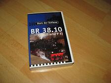 Stars della rotaia BR 38.10 prussiano p8 vhs video cassetta 40 minuti come nuovo