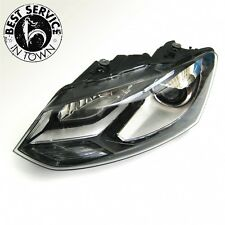 ORIGINALE VW POLO 6R XENON FANALE - con luce diurna LED sx. O. RE
