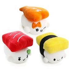 "Sushi Japan 6"" Plush Pillow Cushion Doll Toy x3 Lot Gift Bedding Room Home Decor"