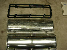 Corvair ALUMINUM Valve Covers. Freshly Polished, 2 New gaskets, maybe GM