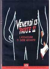 Venerdì 13. Parte II. L'assassino ti siede accanto (1982) DVD Copertina Rara