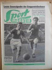 SPORT MAGAZIN KICKER 16 - 16.4. 1952 Zeitler Werder Bremen-1.FC Nürnberg 4:1