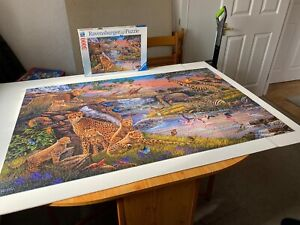 Ravensburger 3000 Piece Jigsaw Puzzle Used But Complete
