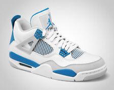 2006 Nike Air Jordan 4 IV Retro SZ 9.5 White Military Blue Cement OG 308497-141