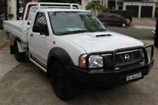 2008 Nissan Navara D22 MY08 DX (4x4) White Manual 5sp M Cab Chassis