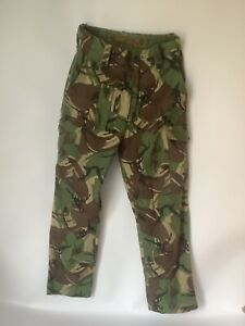 British Army Issue 68 Pattern Combat Trousers SIZE 1 Vintage 30 inch waist (43)