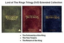 LORD OF THE RINGS COMPLETE TRILOGY COLLECTION DVD EXTENDED EDITION UK Release R2
