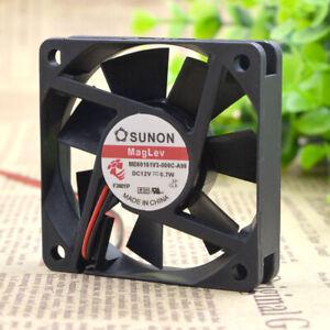 SUNON ME60151V3-000C-A99 12V 0.07W 6015 6cm 2-pin magnetic suspension fan