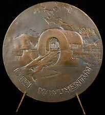 Médaille Claude-Nicolas Ledoux architecte Van Maelle maison directeur de la Loue