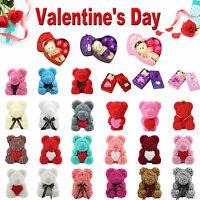 Rose Flower Cute Bear Teddy Bear Luxury Girlfriend Valentine's Day Gift Various