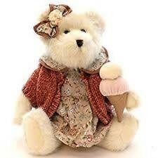 "Boyds ""Shara Sugarcone"" Bear #919823 Tags 9"" Plush.2003 Retired"