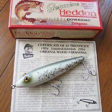 """HEDDON """"Zaragossa"""" X6500W Centennial Edition # SS"""